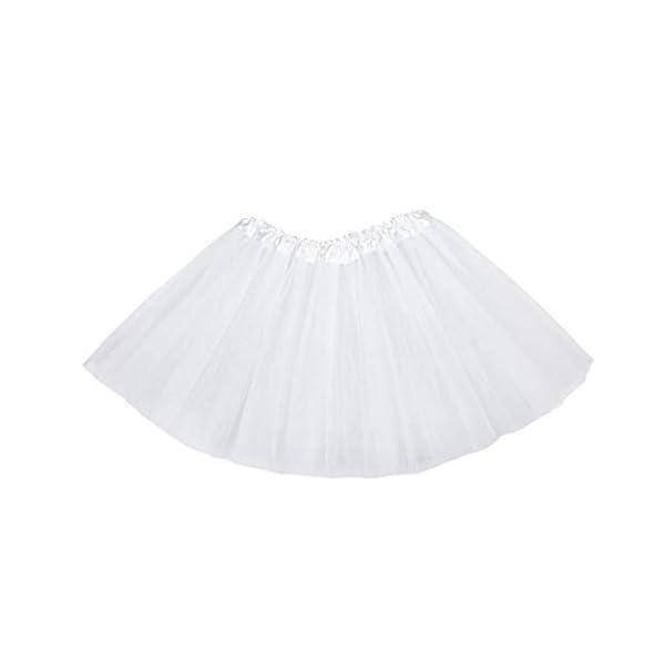 Falda del tutú de moda de 3 capas de la princesa vestido de ballet Ballet del Consejo de Medio tul moda falda de la… 1