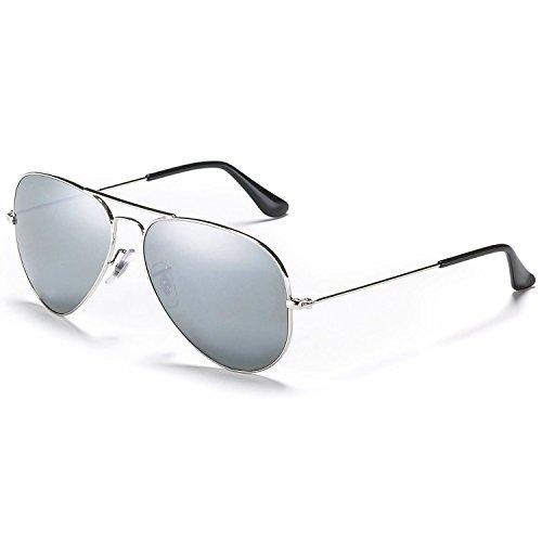 MaFs Silver Mercury Aviator Unisex sunglasses (DSC_090)