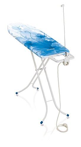 Leifheit  71625 Classic M Basic Plus Color Edition Table à repasser Métal Blue 40,5 x 8,6 x 142,3 cm