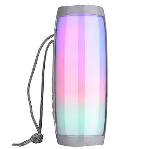 SHWYX Altavoz Bluetooth Regalo Creativo Audio Inalámbrico para Exterior de LED Impermeable para Farol de LED Impermeable