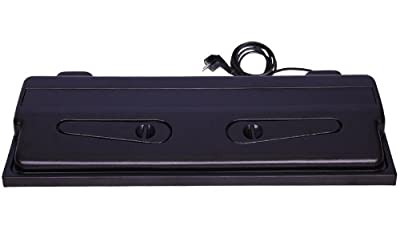 ACV103 ABS Aquarium Abdeckung 100x40 schwarz incl. Beleuchtung bei Robizoo