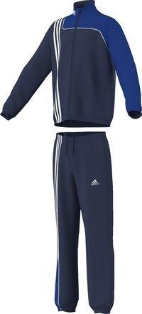 adidas Kinder Trainingsanzug Sereno 11 Presentation, Top:New Navy/Cobalt Bottom :New Navy/Cobalt, 164, V38065