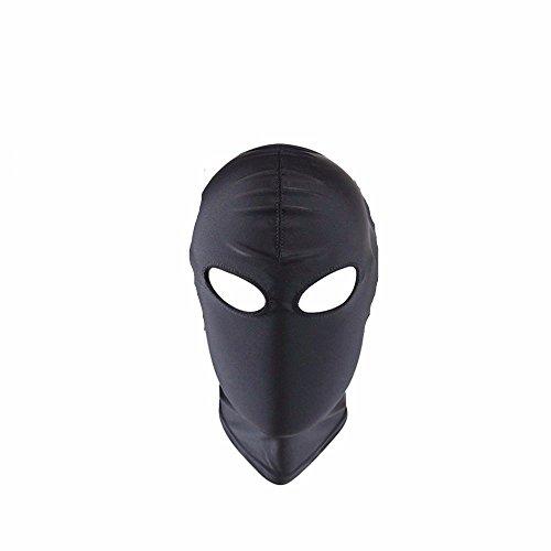 Für Schatten Nacht Erwachsene Kostüm - XO-MOK komplett geschlossene Schwarze Frau Herren Schatten Hood Hood Typ 3: Tau Augenmaske Bett Set Männer Frauen Cosplay Paar Spielen Spielzeug personalisierte Kostüm