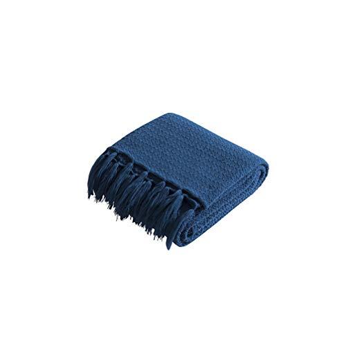 HYwot Caldera Acryl Decke Stricken Sofa Decke Weiche Geladene Fotografie Requisiten,a1 -