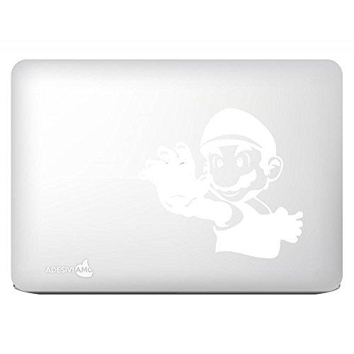 Adesiviamo Aufkleber Super Mario Hand decal sticker for apple mac macbook tutti i modelli - Hand Geschnitzten Blättern