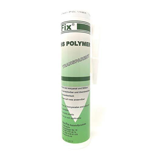 Ber-Fix MS Polymer Transparent Kristall - Montage-Kleber Dichtstoff auf dauer UV-beständig, Wetter-beständig, Süß- Salz- See-Wasser-fest, feuchtigkeits- und chlorbeständig. bindet selbst Unter- Wasser -