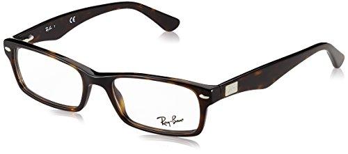 Ray-Ban Herren Brillengestell 0rx 5206 2012 52, Braun (Dark Havana)