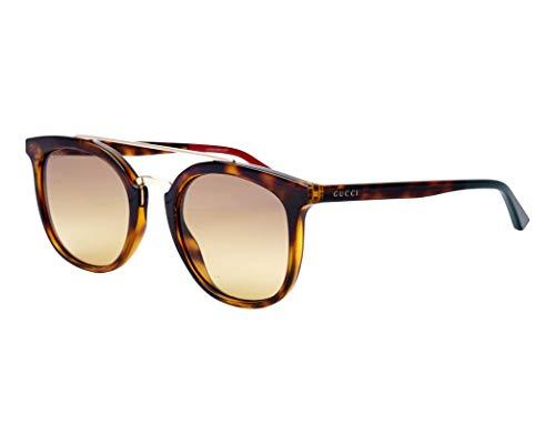 Gucci Sonnenbrillen (GG-0403-S 003) dunkel havana - gold - grau-braun verlaufend
