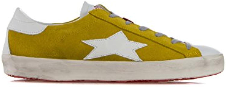 ISHIKAWA Schuhe Sneakers Aus Wildleder Und Leder