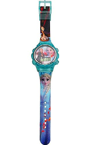 Frozen Reloj Digital 2 Pulsera, Adultos Unisex, Multicolor, Unico