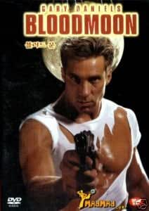 Bloodmoon:ntsc, region 2 compatable, import plays region all~Gary Daniels~Frank Gorshin~Chuck Jeffreys..