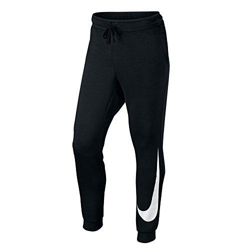 Nike Herren Hosen / Jogginghose NSW FLC Hybrid schwarz L