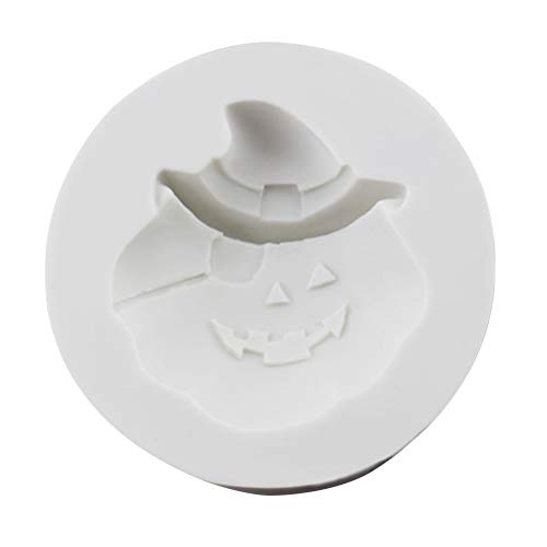 BESTOYARD Halloween Silikon Kuchenform Kürbis Schokolade Fondant Kuchen Dekoration Backen DIY Werkzeuge (Zufällige Farbe)