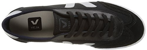 VEJA Volley, Baskets Basses mixte adulte Noir (Black/Oxford Grey)