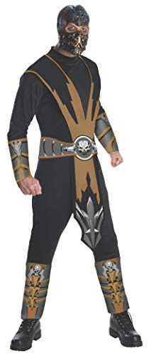 Rubie 's Offizielles Mortal Kombat Scorpion, Erwachsene Kostüm–Große