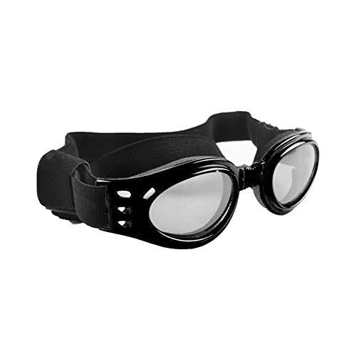 VIMOER Haustier-Sonnenbrille, Kunststoff, UV-Schutz, Brille, für Hunde und Katzen, wasserdicht, 6 Farben, 3 Größen