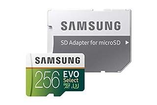 "'Samsung Mo de me256ga/UE Evo Select ""microSDXC, 256Go (B07CXXBTSQ) | Amazon price tracker / tracking, Amazon price history charts, Amazon price watches, Amazon price drop alerts"