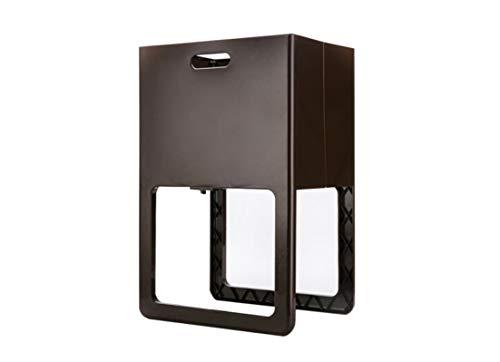 HU Falten Mit Füßen Kunststoff Ablagekorb Wäschekorb Schmutzige Kleidung Ablagekorb Bad Kleidung Wäschekorb 61 * 40 * 30 cm (Color : Black)