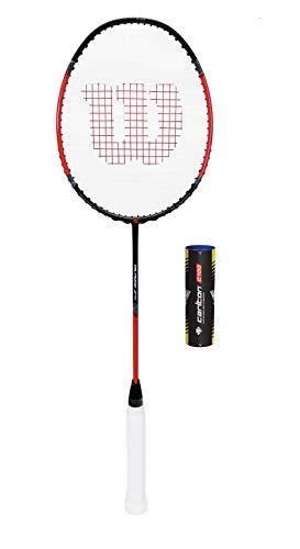 Wilson Fierce CX5000 Badminton Raquette + 6 Navettes