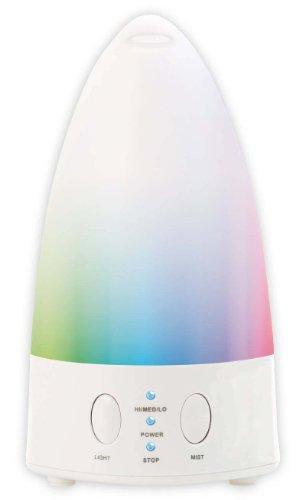 Lanaform Aroma Zen - Lámpara de seis colores y difusor de aceite