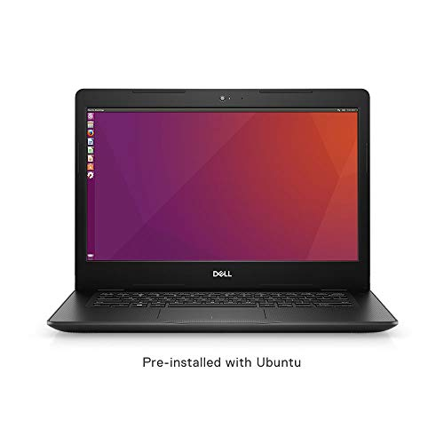 Dell Vostro 3480 14-inch Thin and Light Laptop (8th Gen Intel Core i3 8145U/4GB/1TB HDD/Ubuntu/Intel HD Graphics), Black