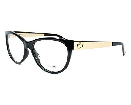 Gucci - GG 3742/N, Schmetterling, Optyl, Damenbrillen, BLACK GOLD(6UB), 53/16/140
