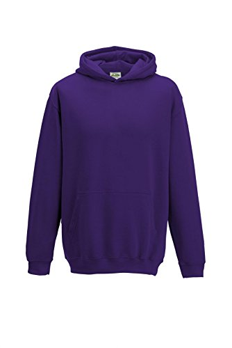 Lila Mädchen Pullover (All we do is - Kinder Kapuzensweatshirt Hoodie Sweatshirt, lila, Gr.152)