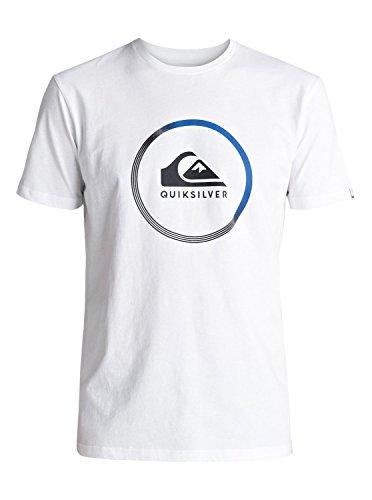 Quiksilver Classic Active Logo - T-Shirt - T-Shirt - Männer - L - Weiss