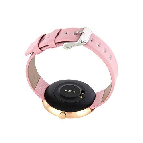X-WATCH SIONA Smartwatch Damen iOS und Android Watch - Damenuhr rosegold Aktivitätstracker Damen elegant Fitnessarmband mit Herzfrequenz Fitness Uhr mit Schrittzähler - 6