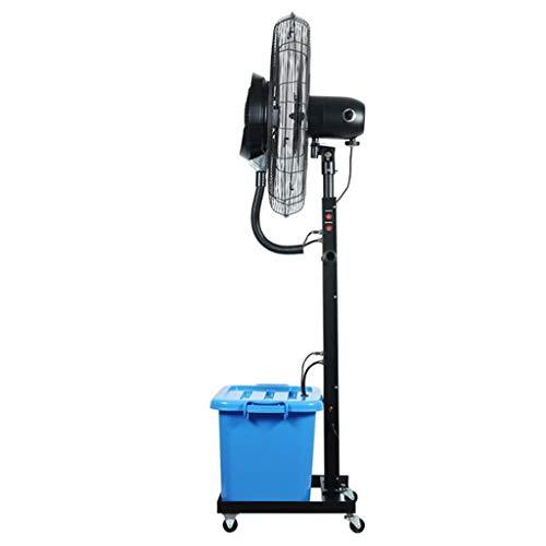 Industrie-sockel-fan (MMLI-Ventilatoren Fächer Spray Stand Fan Industrie Zerstäubung Sockel Horn Fan Große Oszillierende Luftbefeuchter Kühlluftzirkulator Mit Nebel Eigenschaften für Home Commercial 220 V / 50 Hz)