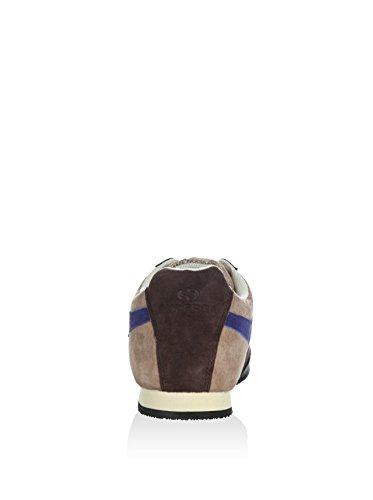 Sneakers - 4431-pigsueu SAND-DARK CHOCOLATE