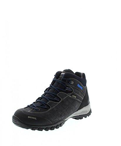 Meindl Shoes Piedmont Mid Gtx Uomo - Graphite / Marine 46 2/3