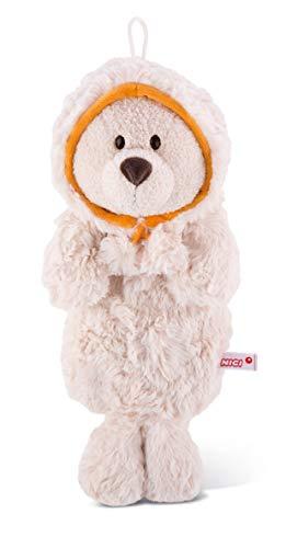Nici 42037 Winter Wärmflasche Robbe Cozylou, 40 x 20 cm, beige