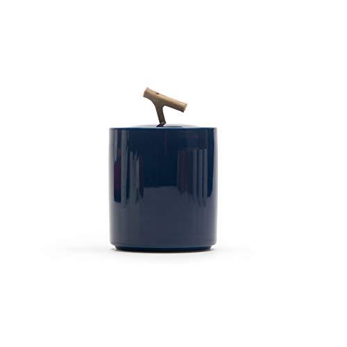TQZHENG-Ashes Urnen Der Feuerbestattung Kleines Andenken Schön Begräbnisurnen for Menschliche Asche Oder Haustier Keramik Urne Starke Versiegelung 6,9 * 10,3 cm Urnen für Asche -