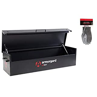 Armorgard OxBox OX6 Secure Van Storage Box and Safety Gloves