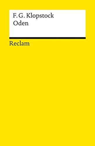 Oden (Reclams Universal-Bibliothek)