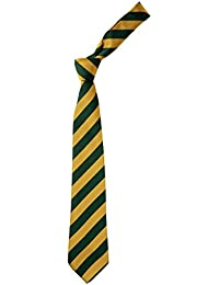 Unicol Broad Stripe School Uniform Ties Hen Party Fancy Dress Disco Tie 6 Pack