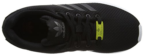 adidas Unisex-Kinder Zx Flux Low-Top Schwarz (Core Black/core Black/ftwr White)