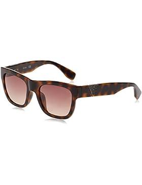Guess GU7440_52F, Gafas de Sol para Mujer, Marrón (Havana), 54