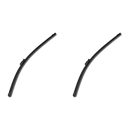 Preisvergleich Produktbild HELLA Dyna Blade Scheibenwischer, Flachbalkenwischblatt gelenklos, EasyChange, robust und aerodynamisch, mit Multiadapter, Set aus 2: WBU 20/500mm + WBU 14/340mm