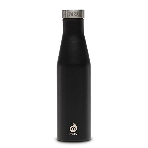 Preisvergleich Produktbild MIZU S6 Isolierflasche mit Schraubdeckel 600 ml - 20 oz Enduro Black