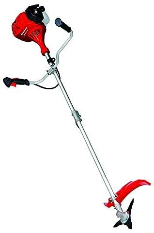 Einhell Benzin Sense GC-BC 43 I AS (1,3 kW, 45 cm Schnittbreite Doppelfaden, 25,5 cm Schnittbreite Messer, 3-Zahn-Messer,