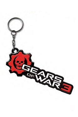 Of War Schlüsselanhänger Gears (Gears Of War 3 Schlüsselanhänger Logo aus Metall Metal Keychain)