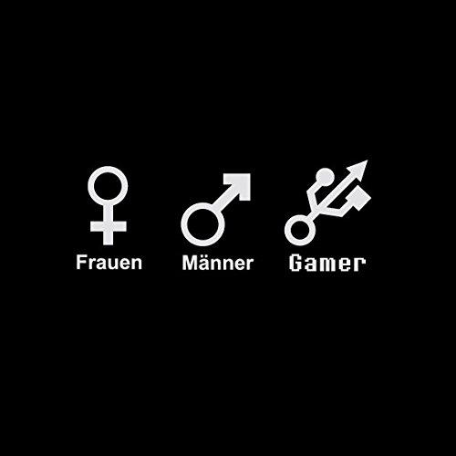 TEXLAB - Gender Nerd - Langarm T-Shirt Graumeliert