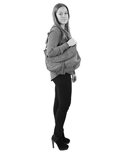 Comprar Barato En Línea Descuento Exclusivo histoireDaccessoires - Borsa a tracolla Pelle Donna - SA144721RG-Fabio Blu marino Barato En Italia Baúl Barato La Venta 2018 Más Reciente 4o432RBAy