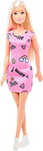 MOM N BABY RETAIL PRIVATE LIMITED Happy Barbie T7439 Doll (Pink)