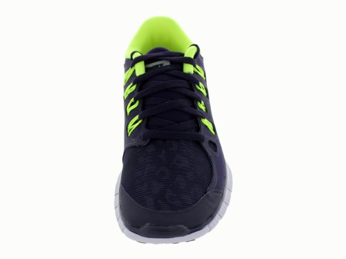 Nike Damen Laufschuhe Violett (Lila/Neongelb)
