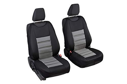 Schwarz-rot Effekt 3D Sitzbezüge für DACIA SANDERO Autositzbezug Komplett