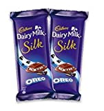 #4: Cadbury silk Oreo New 60 g ( Pack Of 2)