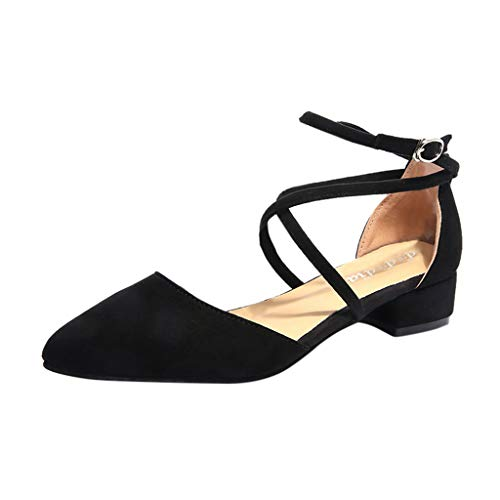 Bride À La Cheville Sandales À Talons Carrés À La Mode des Femmes Chaussures Orthotic Occasionnelles